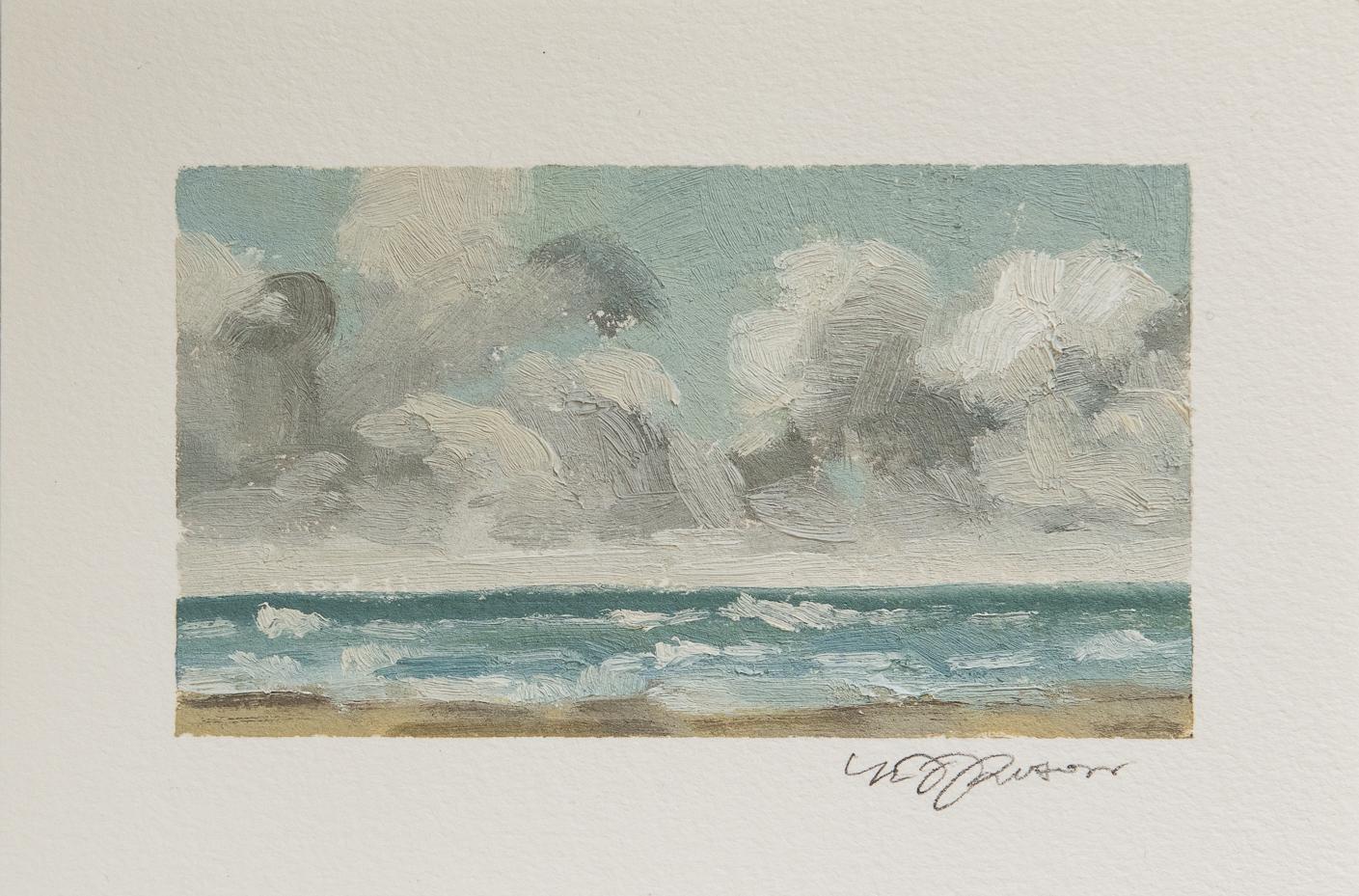 impressionist seascape oil painting   miss mustard seed