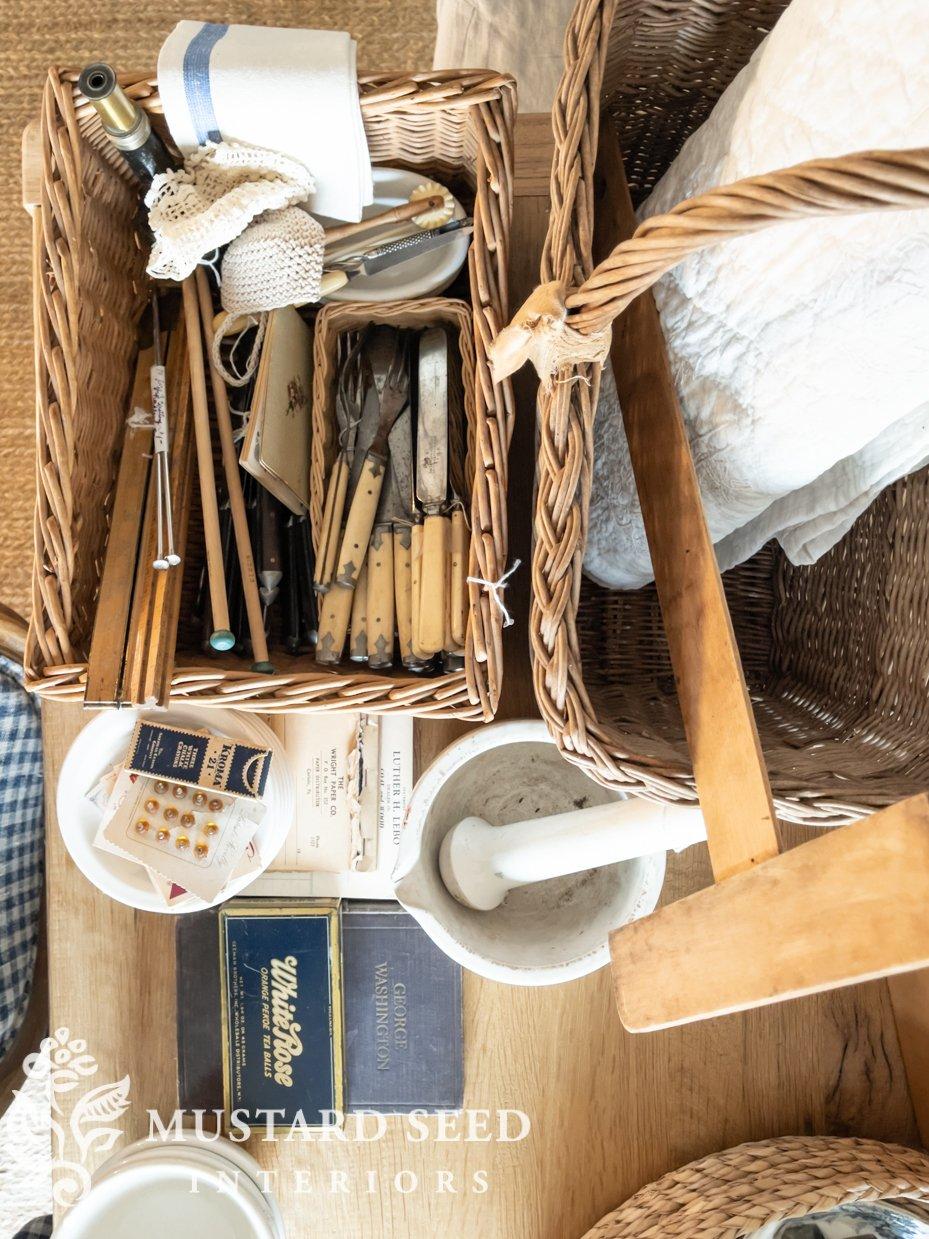 antique haul | miss mustard seed