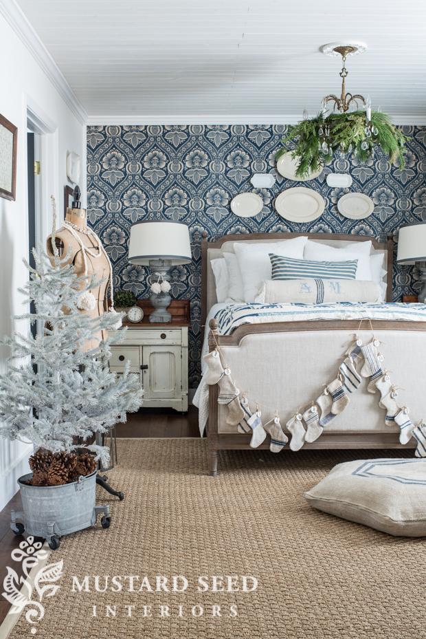 Christmas Master Bedroom 2016 Miss Mustard Seed Home Decorators Catalog Best Ideas of Home Decor and Design [homedecoratorscatalog.us]