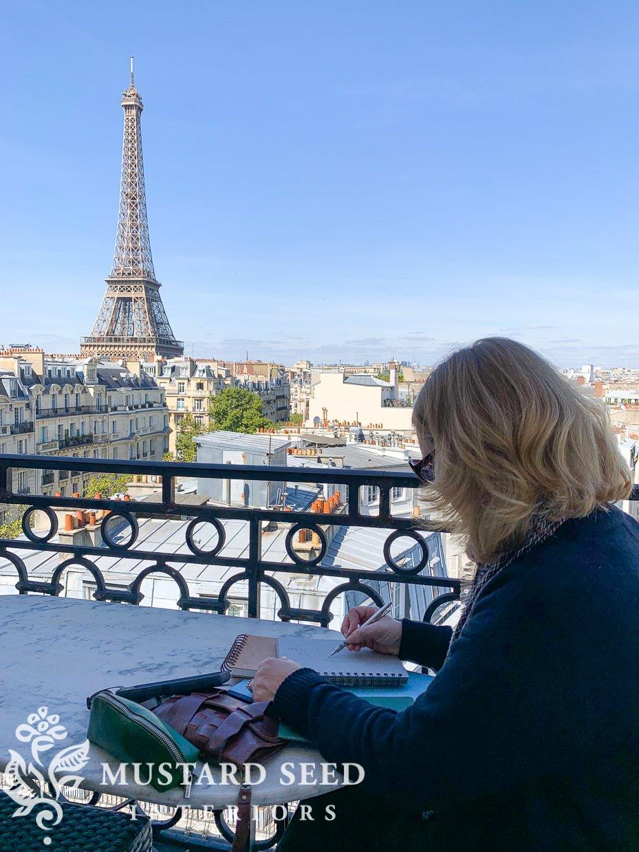 Paris Perfect Apartment | miss mustard seed
