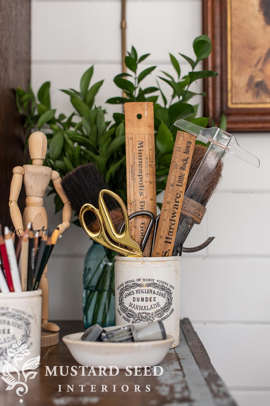 antique marmalade crocks | favorite things | miss mustard seed