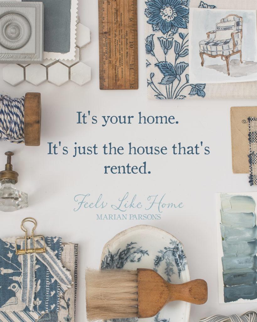 Feels Like Home Book   Renter's Guide   Miss Mustard Seed   #feelslikehomebook