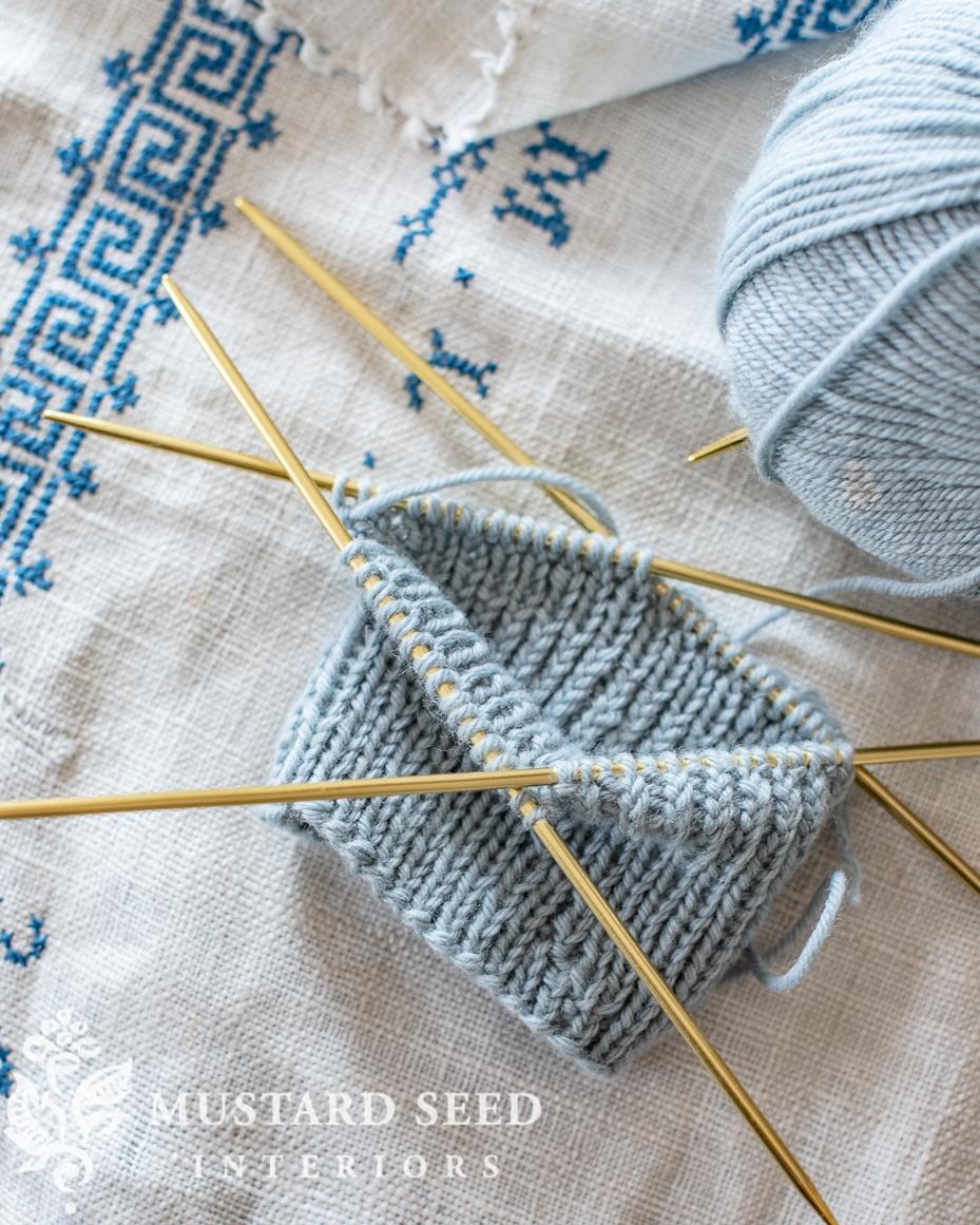 feels like home book giveaway | knitting socks | miss mustard seed