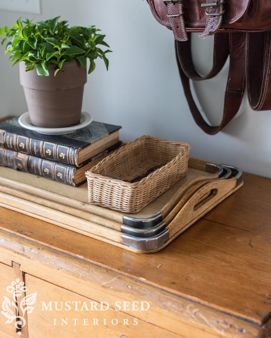 small basket | miss mustard seed