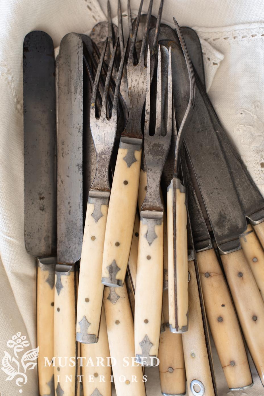 civil war era flatware | miss mustard seed