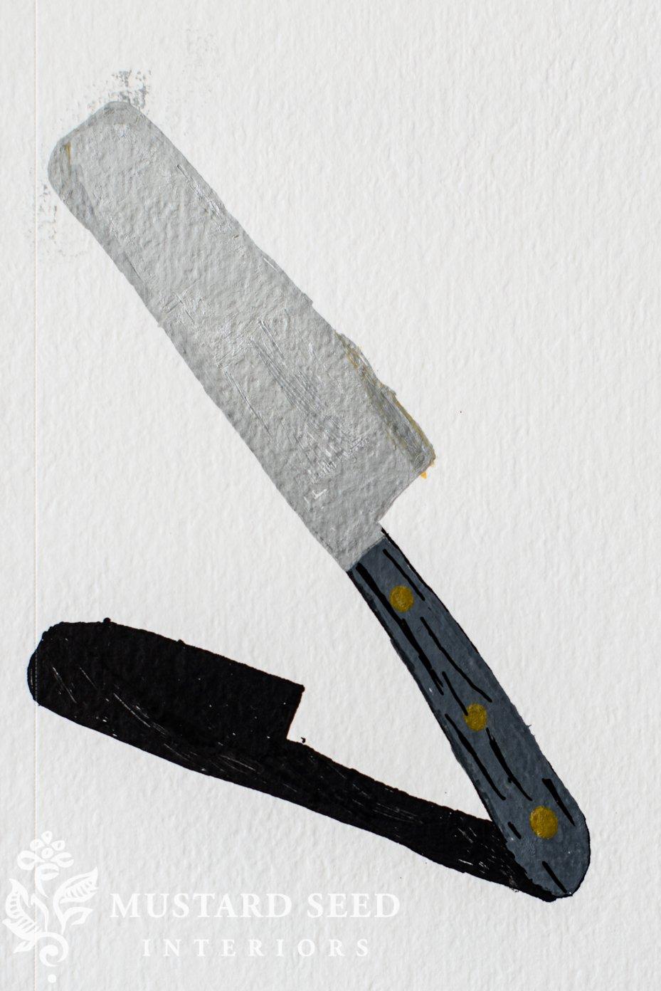 acrylic paint sketch | domestika illustration class | miss mustard seed