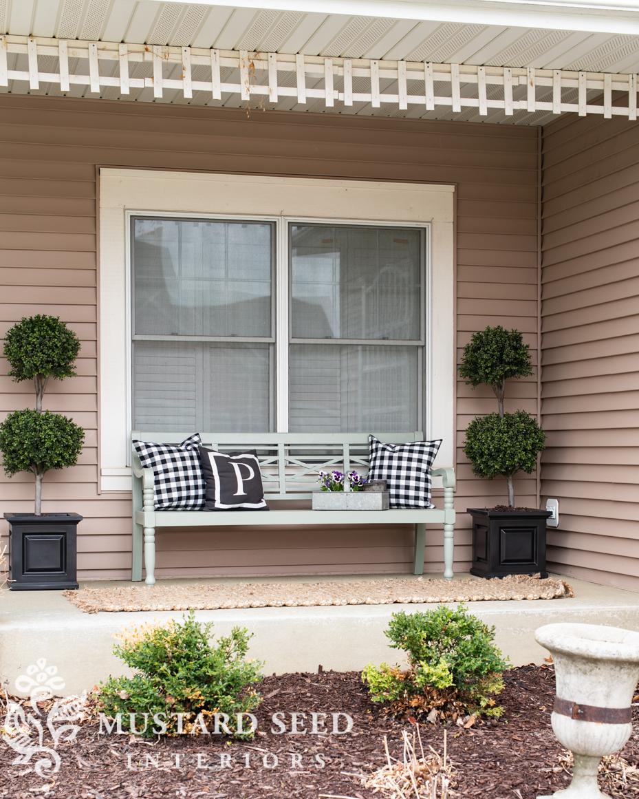 porch refresh with walmart | miss mustard seed