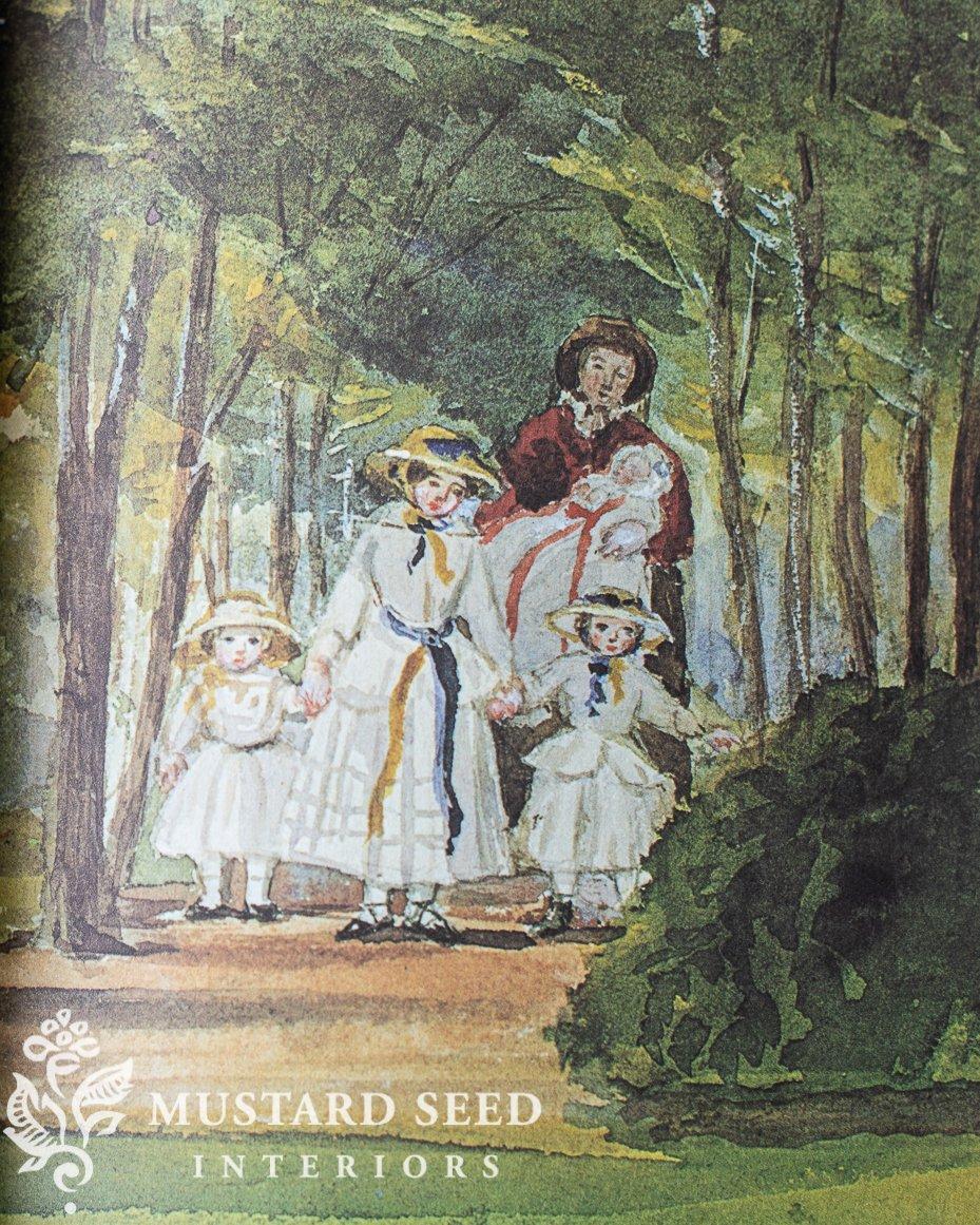Queen Victoria's Sketchbook   Miss Mustard Seed