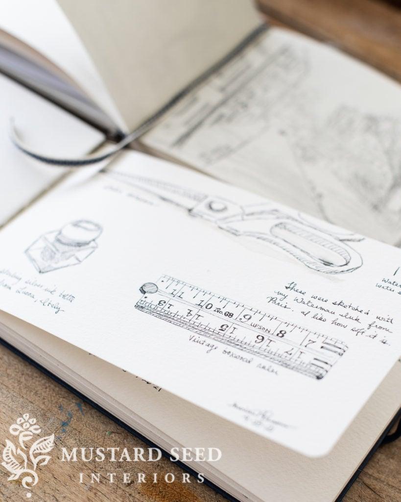 sketchbook tour | miss mustard seed