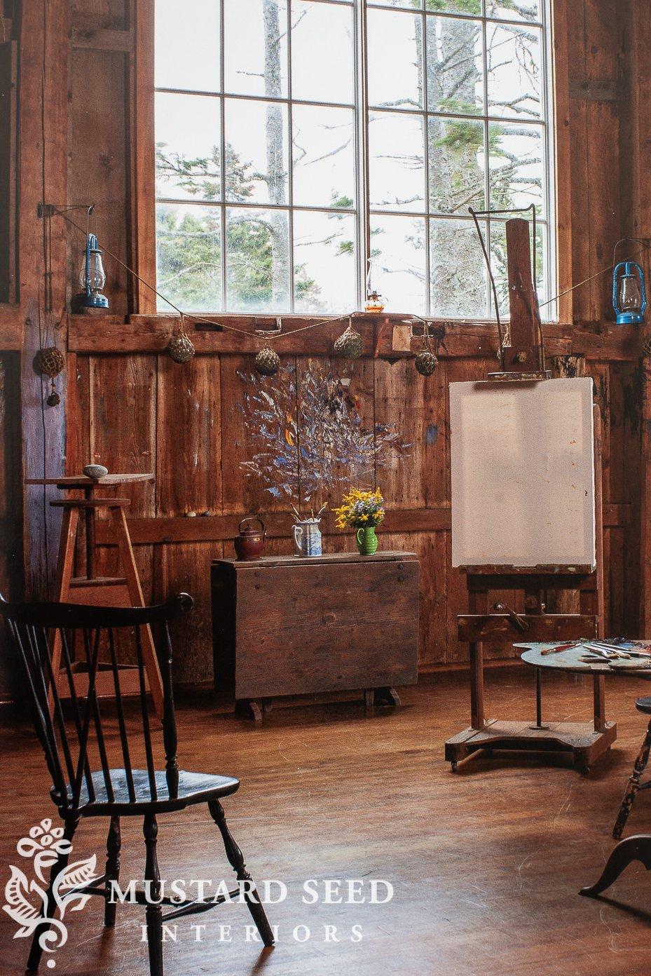 frank benson's studio | at first light | miss mustard seed