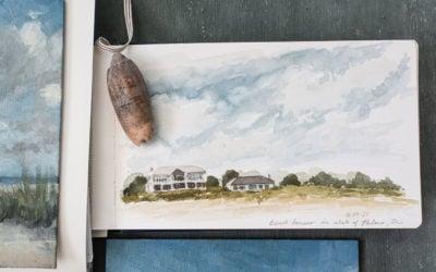 isle of palms   part three   painting & sketching