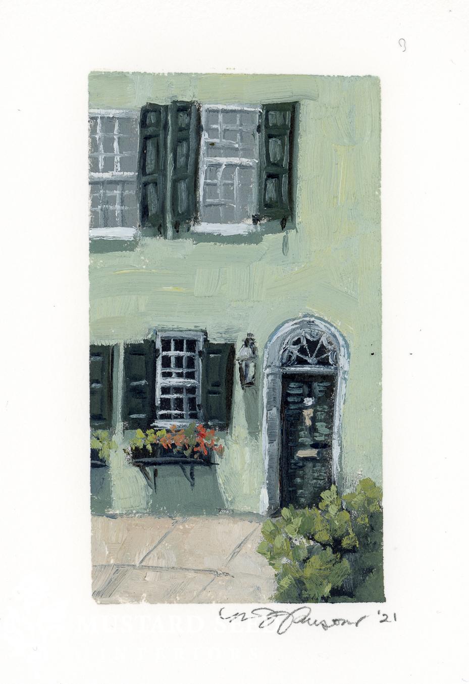 original oil painting | Charleston, SC | miss mustard seed
