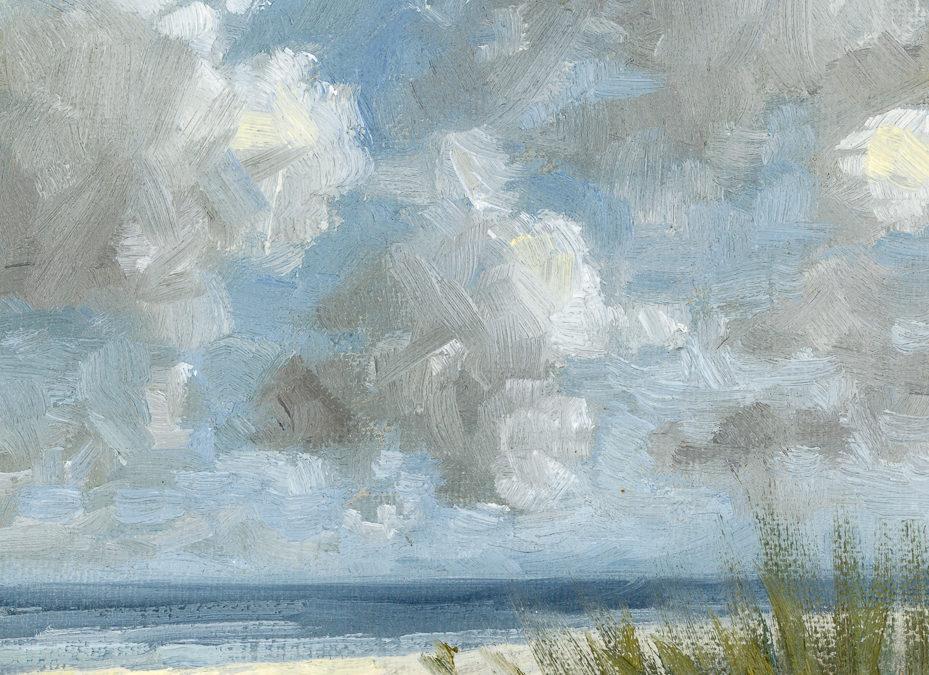 original oil 5 x 7 on linen panel | study of Johan Barthold Jongkind