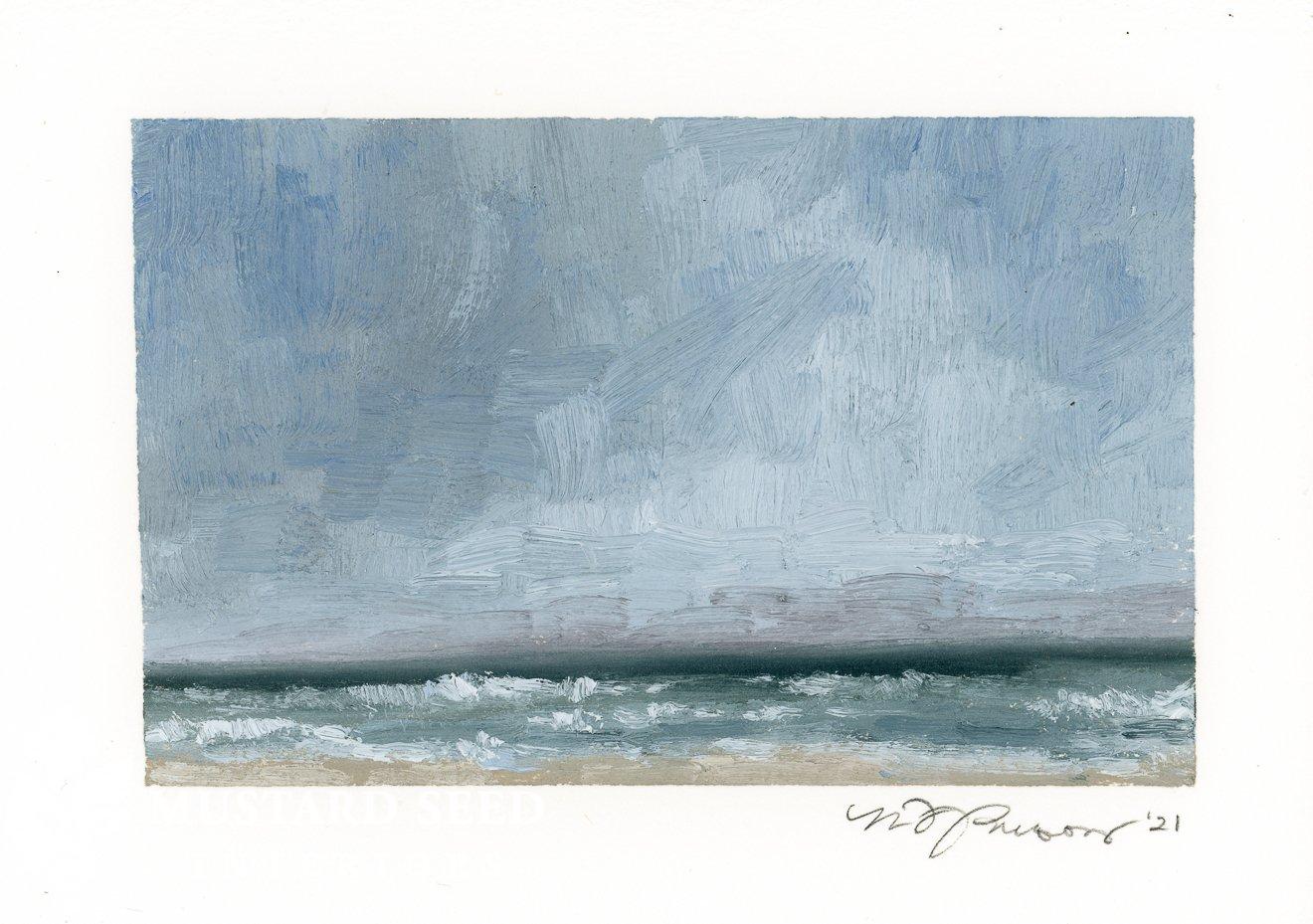 original oil painting | Isle of Palms | miss mustard seed