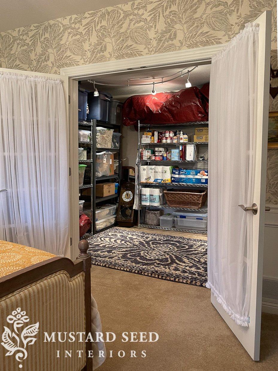 organizing | basement storage room | miss mustard seed
