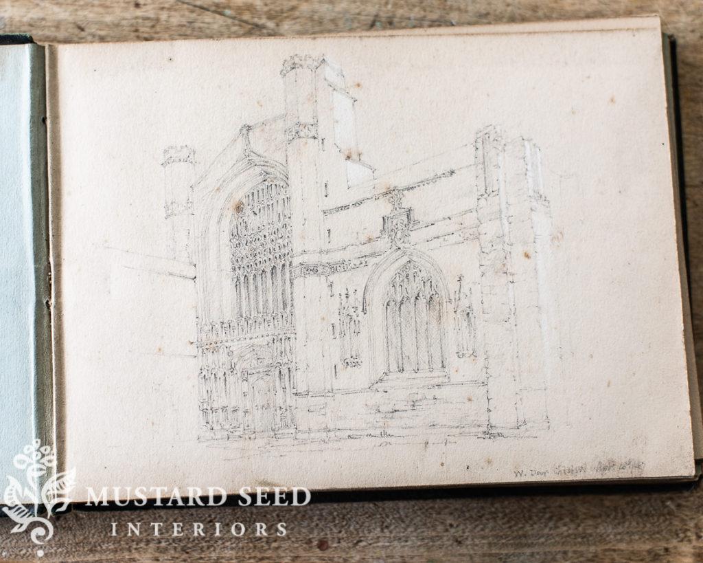 1847 sketchbook of Brooke Foss Westcott | miss mustard seed