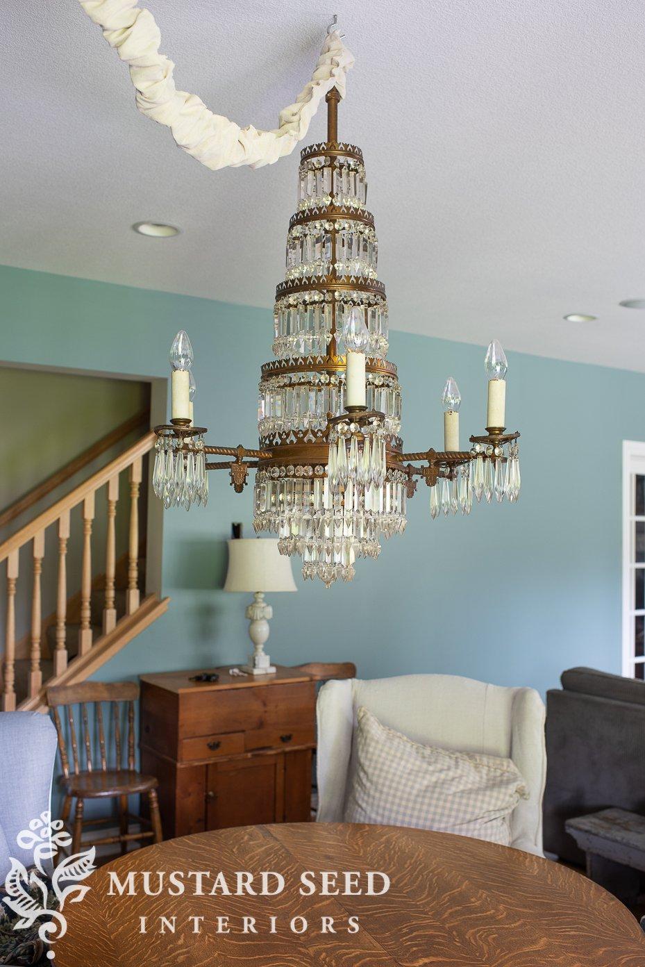 1800s crystal chandelier   july 2021 favorites   miss mustard seed