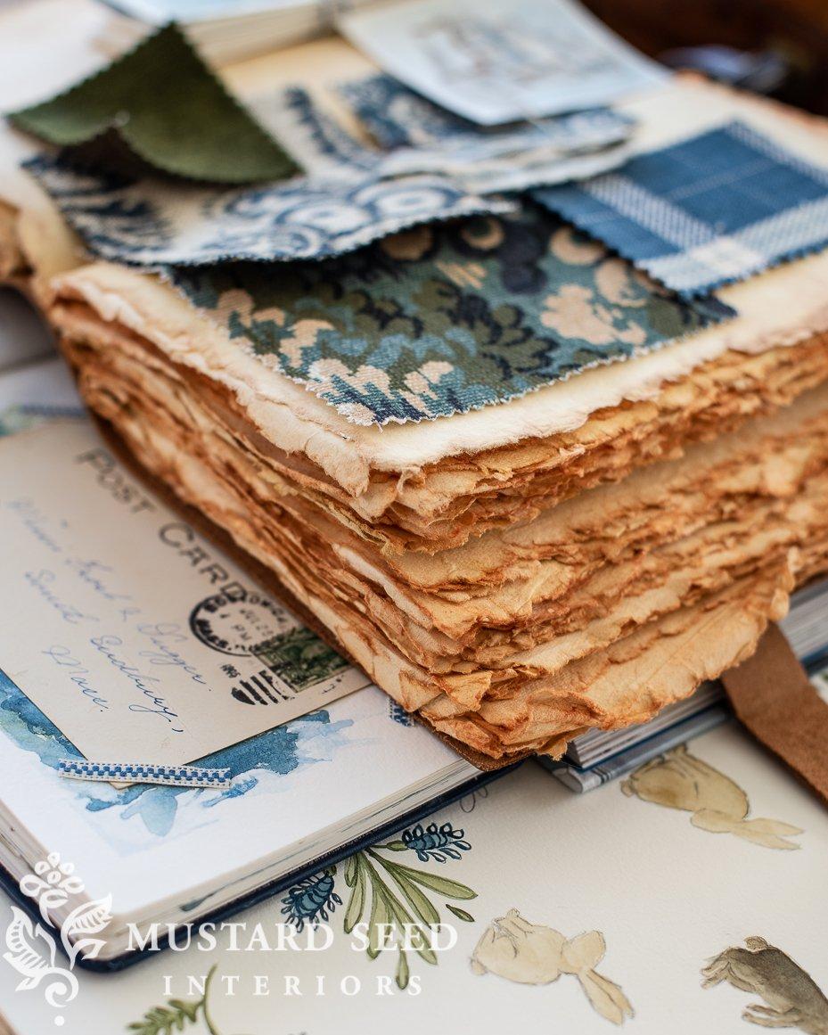Feels Like Home Book Giveaway   leather village notebook   Miss Mustard Seed   #feelslikehomebook