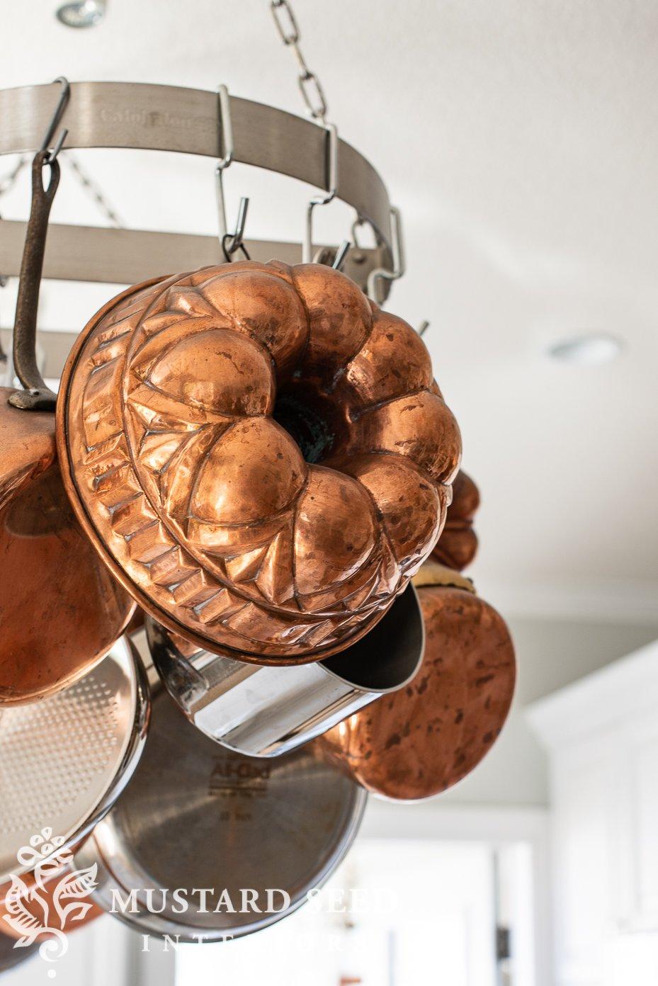 antique copper bundt pan | miss mustard seed