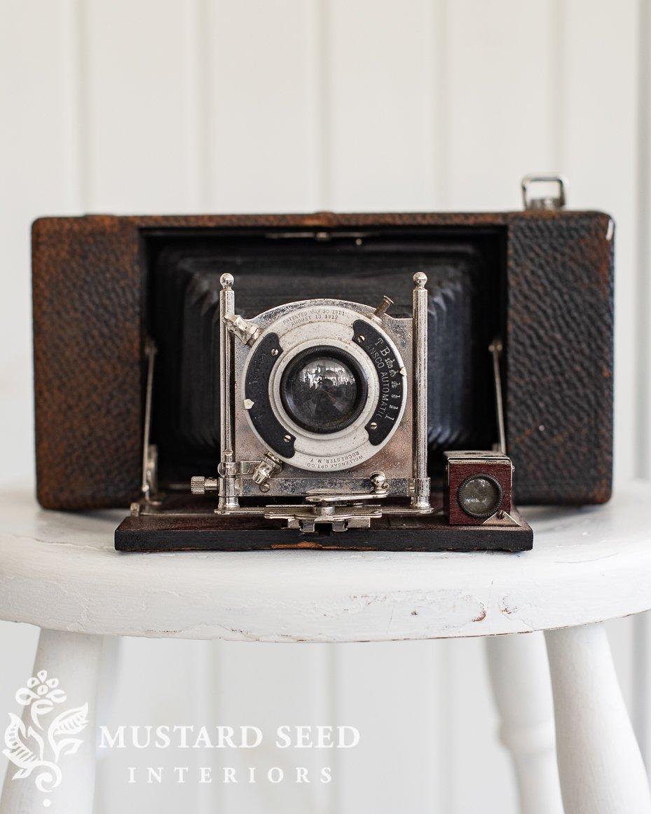 no. 10 Ansco Folding Camera Circa 1906 | miss mustard seed