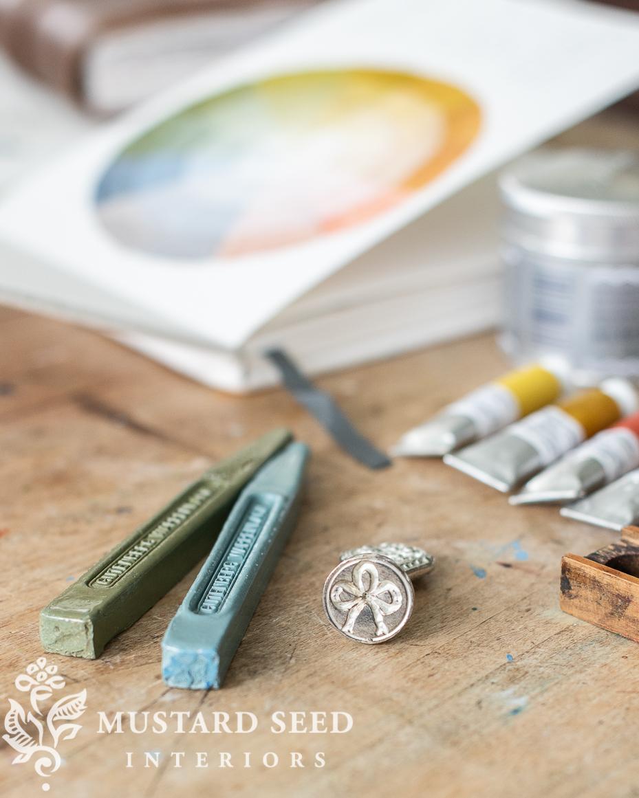 sealing wax | choosing keeping | miss mustard seed