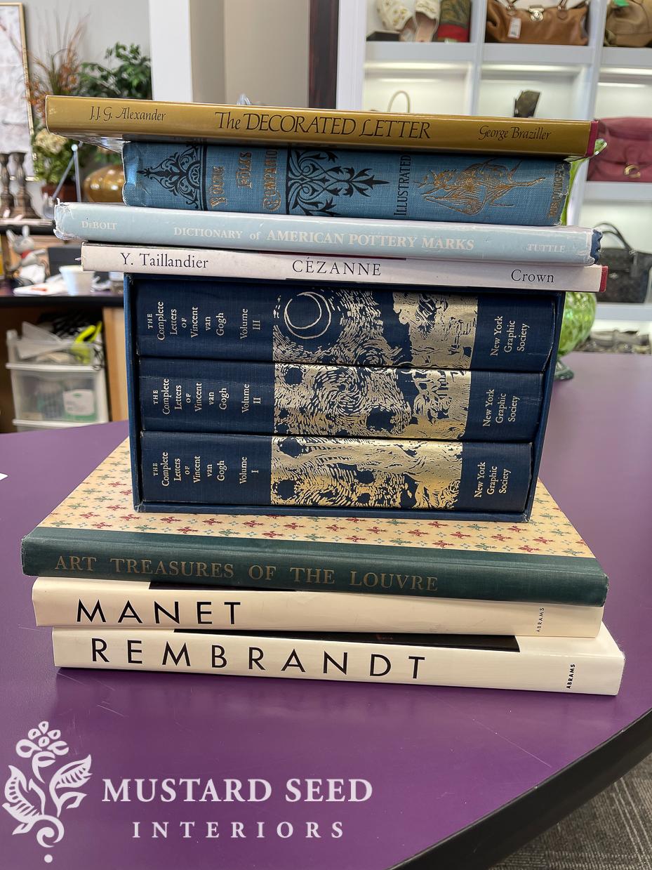 used art books | miss mustard seed