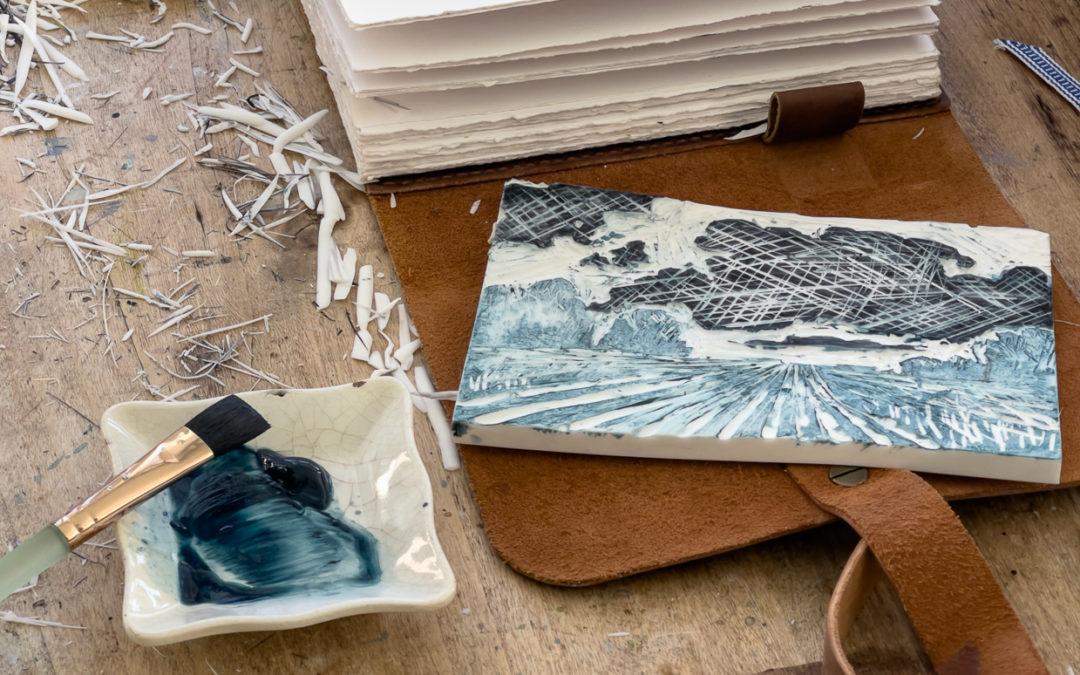 creative play | lino cutting & printing
