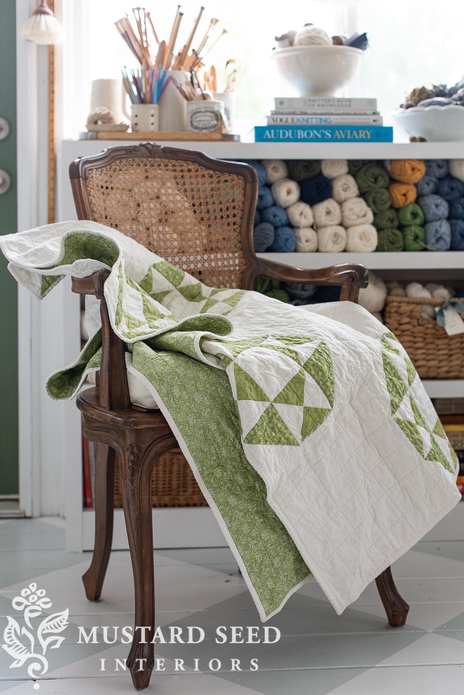 Hearthside Comforts Handmade Quilt | miss mustard seed