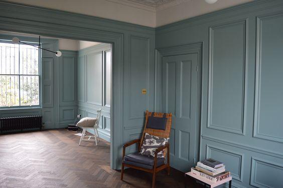 oval room blue inspiration | farrow & ball | miss mustard seed