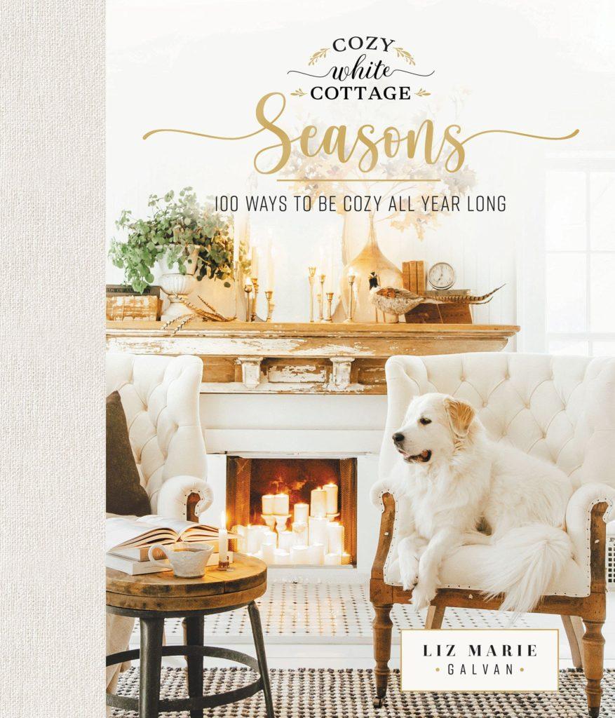 cozy white cottage seasons | liz marie galvan | miss mustard seed