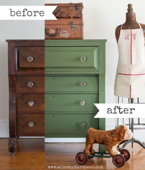 Boxwood dresser Collage