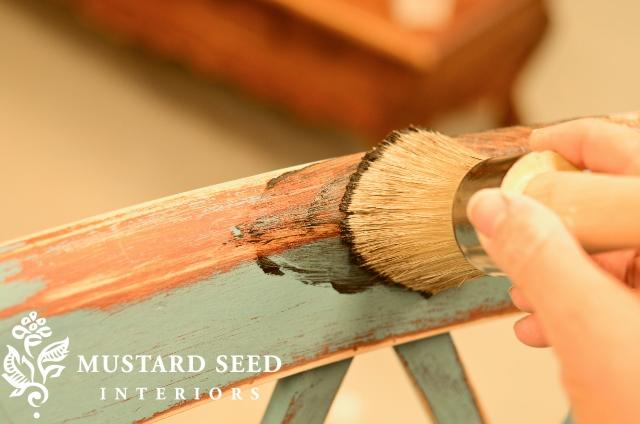 Painted Bar Stool Tutorial – Part 2