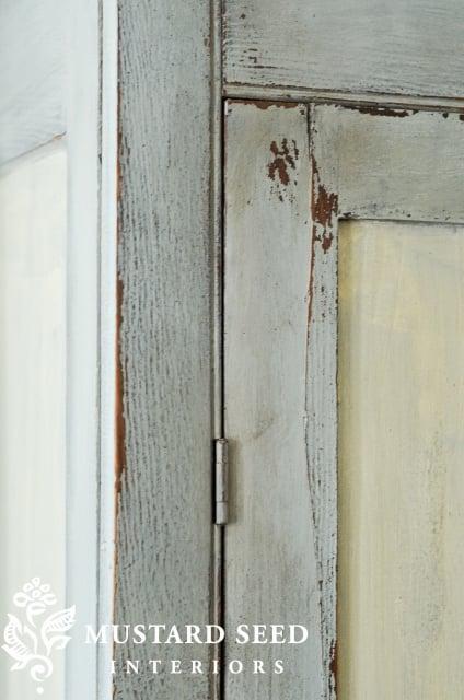 Milk Painted Wardrobe Reveal