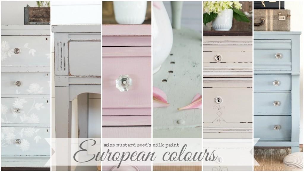 European Colours   miss mustard seed