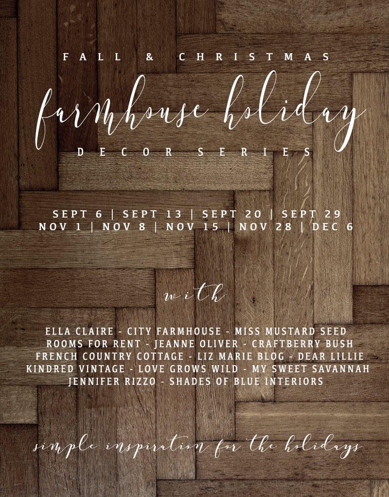 Farmhouse Holiday Decor Series | Fall Porch | missmustardseed.com
