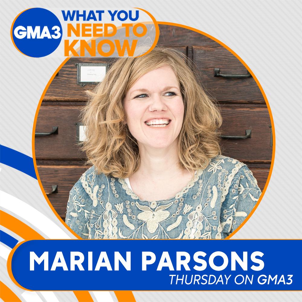 Marian Parsons on GMA3 | Feels Like Home Book