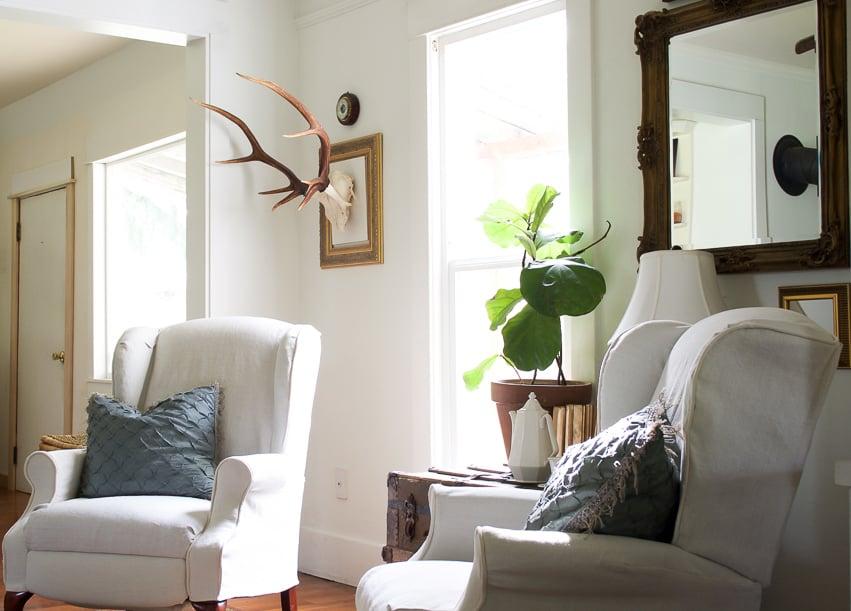 decorating dilemma update | sarah's fireside room