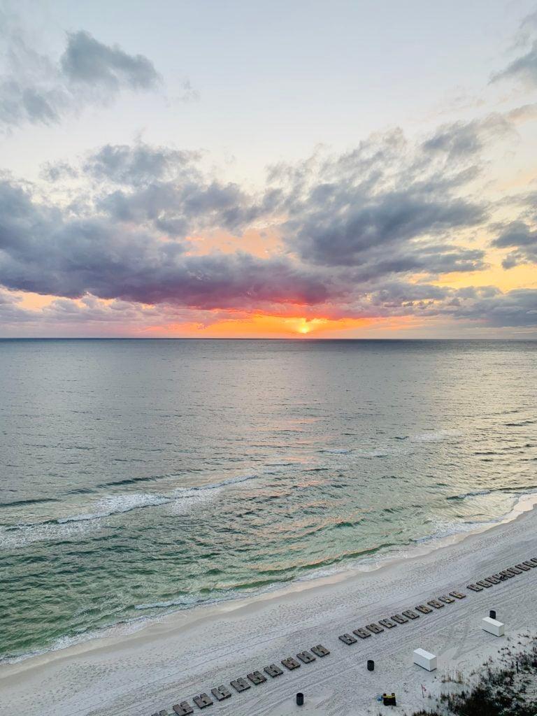 panama city beach FL | sunset | creative retreat | miss mustard seed