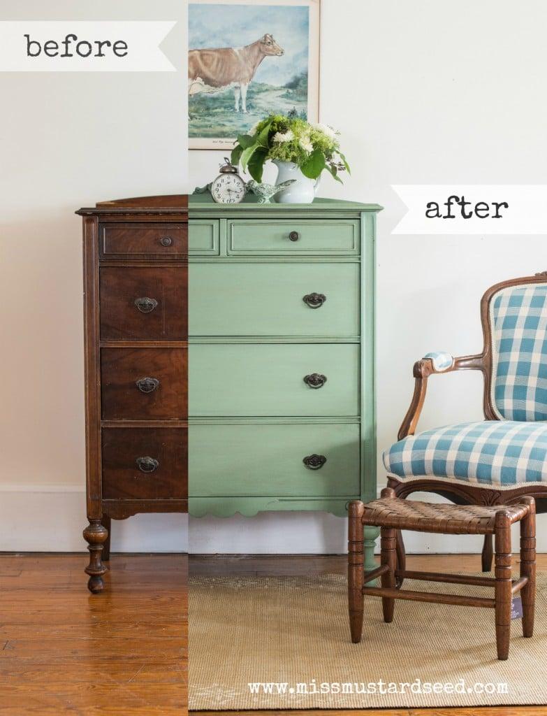 Lucketts Green Dresser Collage