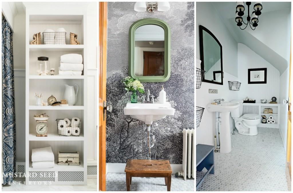 MMS bathroom collage