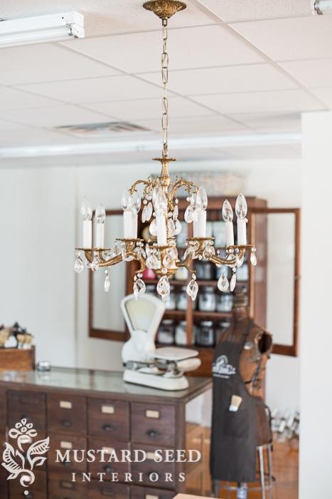studio chandelier | miss mustard seed