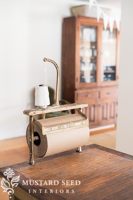 antique paper cutter | miss mustard seed