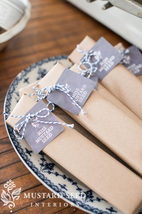 brown paper packages & baker's twine | miss mustard seed