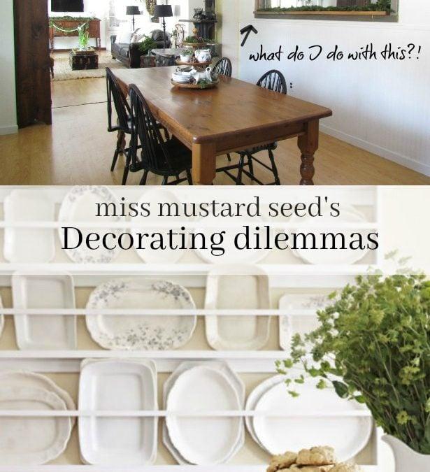 Decorating Dilemma | Marie – Hélène's Kitchen