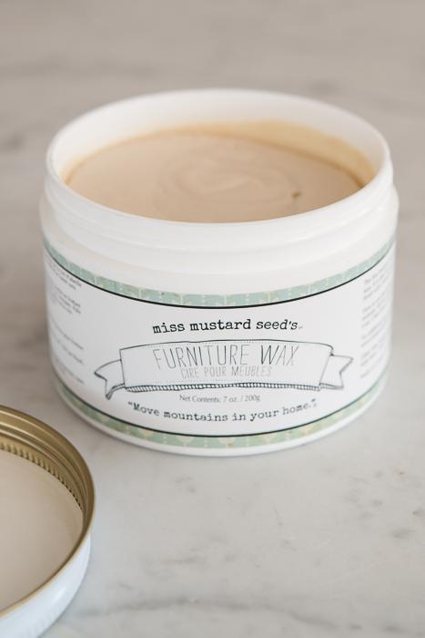 furniture wax   200 g  miss mustard seed - 2