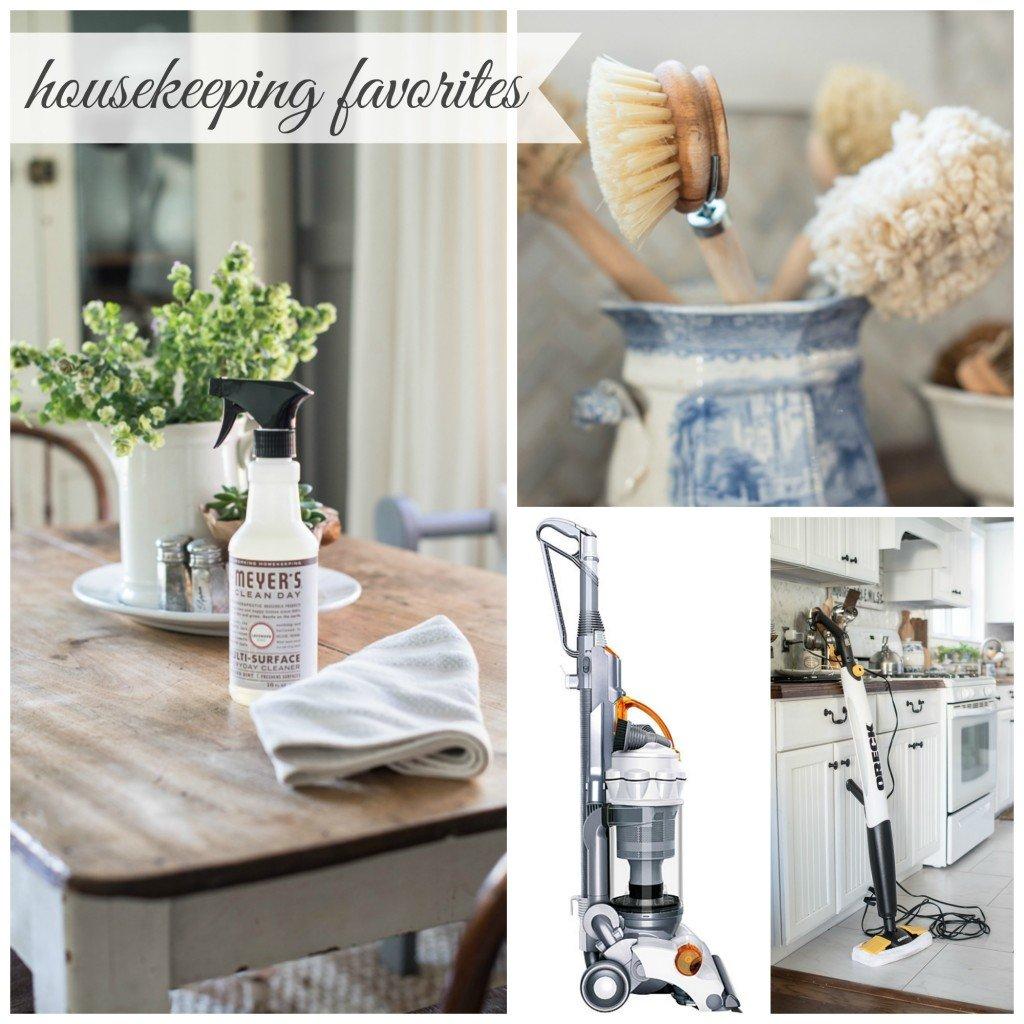 housekeeping Collage