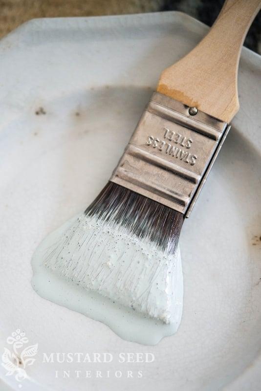 milk paint pumpkins | custom paint colors | fall decor | DIY | missmustardseed.com