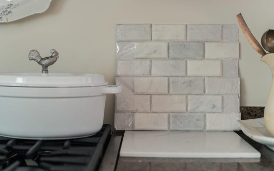 counter & tile options & $30 shelves