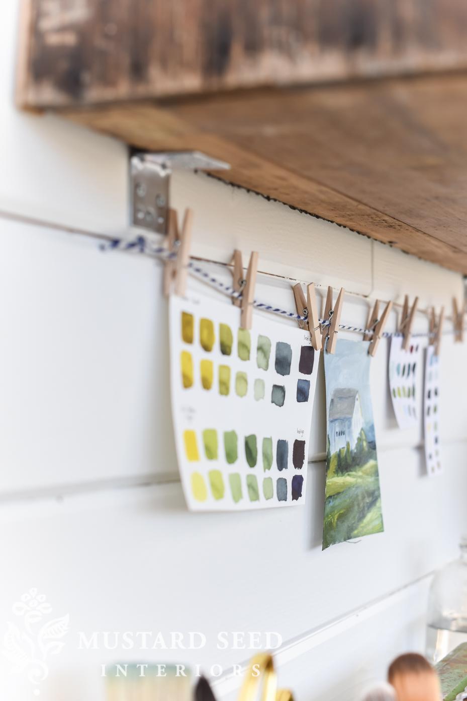 Megan's office makeover | Craig's List wardrobe reveal | miss mustard seed