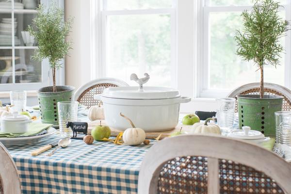farmhouse holiday series | fall dining room